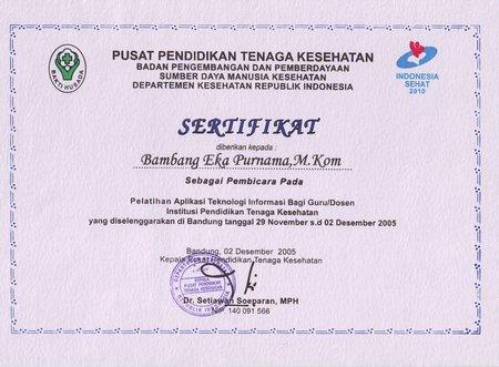 Narasumber Page 3 Bambang Eka Purnama