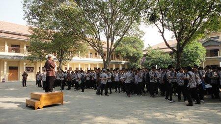 SMK N 5 Surakarta Upacara