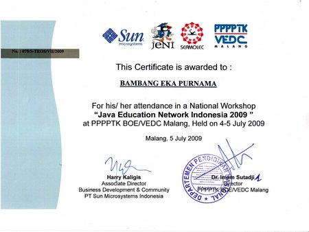 Workshop Jeni - VEDC