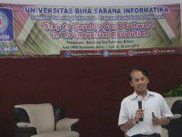 UBSI Surakarta Selenggarakan Seminar Dengan Tajuk Potensi Programmer di Era Revolosi Industri 4.0