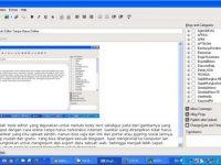 Blog Desk Tools Untuk Editor Tanpa Harus Online