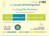 PP21 Workshop and Aspire Leaderboard