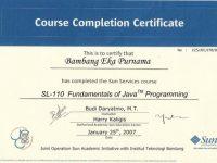 Pelatihan Fundamental of Java Programming
