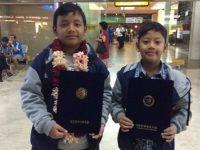 Ciptakan Lemari Es Tanpa Listrik, 2 Siswa SD Semarang Raih Medali di Korea