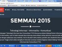 Seminar Nasional Sistem Informasi dan Komunikasi (SEMMAU) tahun 2015  – Uyelindo