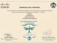 UI Cisco Developing Local Talent Technology